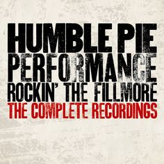 Jerry Shirley of Humble Pie Talks Performance: Rockin' the Fillmore, The TVD Interview - The Vinyl District Rock Album Covers, Music Album Covers, Lps, The Filmore, Little River Band, Steve Marriott, Classic Rock Albums, Fillmore East, Album Covers
