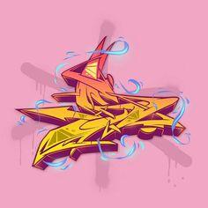 Буквы - граффити\стрит-арт Graffiti Lettering Alphabet, Graffiti Writing, Graffiti Tagging, Street Art Graffiti, Different Art Styles, Creative Lettering, Robot Art, New Art, Illustration