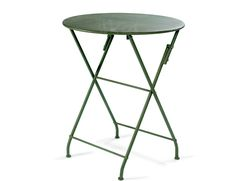 Garden table Green. Foldable. Iron. Nordal. Ok Design, Side Coffee Table, Outdoor Garden Furniture, Garden Table, Tripod, New England, Outdoor Gardens, Home Decor, Norfolk