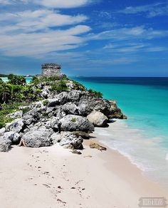 The Ruins of Tulum, Mexico>>>such a beautiful spot! Have you been?