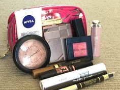 Beauty Kit, Beauty Makeup, Beauty Vanity Case, Dance Bags, What's In My Purse, What In My Bag, Makeup Pouch, The Make, Makeup Storage