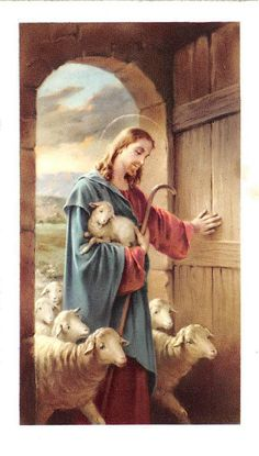 Reckless love of God. He fights for me and leaves the 99 💖🌹I don't deserve it, yet He gives His love away. Christian Artwork, Christian Images, Catholic Art, Religious Art, Jesus Pastor, Christ The Good Shepherd, Good Shepard, Jesus Christ Painting, Première Communion