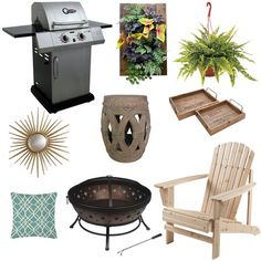 A few outdoor accessories to take along on your next glamping excursion! Deck Lounge Ideas, Lawn Furniture, Outdoor Furniture Sets, Patio Accessories, Outdoor Ideas, Outdoor Decor, Outside Living, Rv Living, Summer Activities
