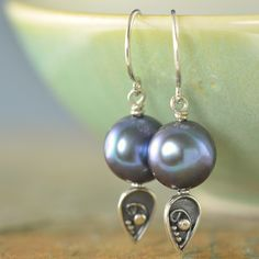 The Freshwater pearl collection by South Paw Studios Jewelry