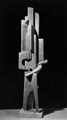 archiveofaffinities:Jacques Lipchitz, Man with a Guitar, 1915