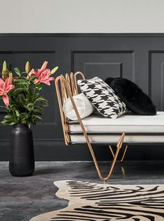 »Eccentric Glam« Vase Groove by HOUSE DOCTOR