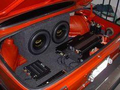 Car audio & Car subwoofers