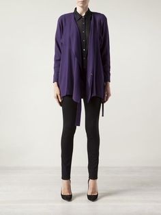Jean Muir Vintage Side Tie Wrap Jacket - - Farfetch.com