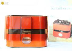 Terraillon 4000 Marco Zanuso Kitchen scale Orange MOMA 70s Panton Export Pop Waage Mint