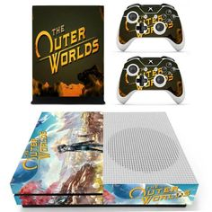 Turnyour Xbox One S console into a piece of art with one of our stick-on Xbox one S skins! EveryXbox one S skinis designed to suit each personal style. Xbox One S skins are made of high-quality material, incredibly easy to use, which improves the performance of gaming. We have thousands of high-quality products that had satisfied thousands of our customers. Increasing online shopping increases our hunger for high standards in Xbox one S decals quality. All you have to do is peel the decals fr S Console, Console Styling, Shops, Gamers Anime, Xbox One S, Games To Play, Color Mixing, Custom Design, Pokemon