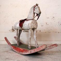 white-painted-rocking-horse-3.jpg (647×647)