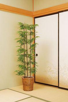 光触媒 光の楽園黒竹 1.5m【インテリアグリーン 人工観葉植物】