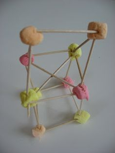 3 Easy Fine Motor Activities - No Time For Flash Cards Marshmallows harden after a day so the sculpture becomes sturdy