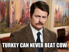Regarding turkey burgers...