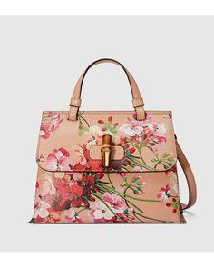 Henkeltasche Bamboo Daily Blooms Gucci Crossbody Bag 1358e70066258