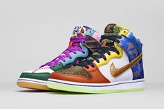 """""""What The Doernbecher"""" Nike Dunk High SB"""
