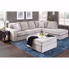 Picture of Altari Alloy 2 PC Sectional with RAF Chaise Outdoor Sectional Sofa, Grey Couch Living Room, Furniture, Chaise, Sectional Sofa, Sectional, Home, Ashley Furniture, Couches Sectionals