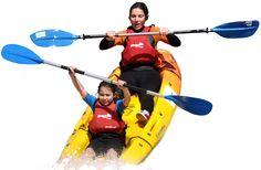 Actividades al aire libre en Arousa como kayak, bicicleta, piragua, snorkel o senderismo, deporte de aventura en a Illa de Arousa