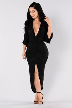Come To Me Dress - Black