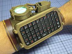 Raspberry Pi Glass, ordenador que puedes llevar puesto con estilo steampunk http://www.xataka.com/p/113524
