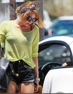 Your Style — Miley Cyrus  I love this Outfit | via Tumblr style