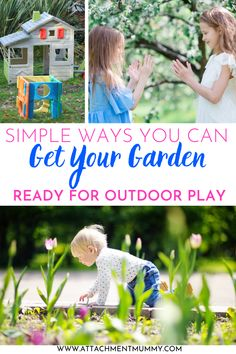 How to Get Your Garden Ready for Outdoor Play Plants Under Trees, Outdoor Play Spaces, Indoor Activities For Kids, Summer Activities, Perfect Plants, Imaginative Play, Jouer, Decorating Blogs, Totems