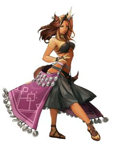 Female half tabaxi miqo'te bard dancer d&d stuff rysunki, fa Fantasy Races, Fantasy Warrior, Final Fantasy Xiv, Fantasy Rpg, Fantasy Character Design, Character Design Inspiration, Character Concept, Character Art, Dnd Characters