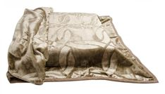 Luxusné deky na gauč hnedé Outdoor Blanket