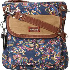 Sakroots Artist Circle Flap Crossbody-, I want a BIG crossover purse something similar to this! Maybe to match the phone holder and wallet! :)