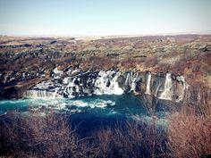 Barnafoss in Westland Waterfall