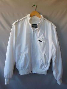 MEMBERS ONLY RACER JACKET WHITE 42