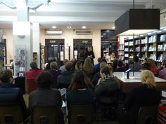 There was a full house for our evening with Matt Haig on March 19th.
