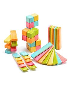 Take a look at this Tints Original Block Set by Tegu on #zulily today!