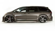 Toyotas SEMA Stand Will Showcase MinivansDUB/TRD/Toyota Sienna