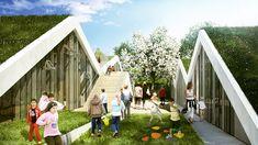 BIG architects: vilhelmsro primary school