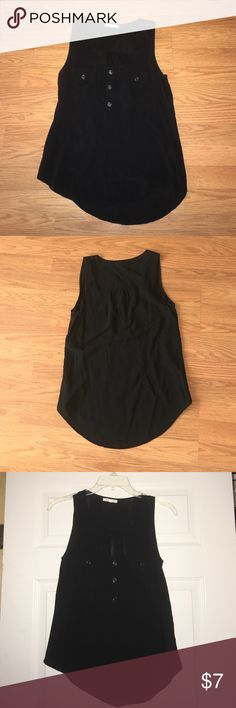 Black tank top. Size small 100% polyester. Good condition. No rips, holes or stains. Tops Tank Tops