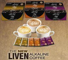 Alliance in Motion Global - Supplements in Kenya: LIVEN ALKALINE COFFEE