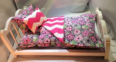 """American Girl 18"""" Doll Bedding 
