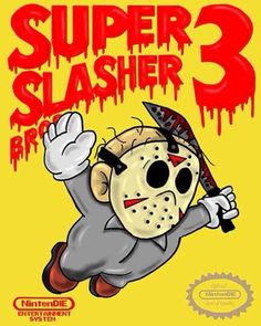 AWESOME!! Super Mario Bros. 3 / Jason Voorhees parody by CryptRottedBones, $10.00