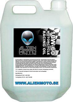 Alien Moto A51-RR 10W-60 Ducati Racing Oil.   www.alienmoto.se