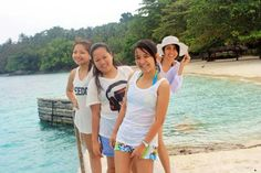 Isla Reta, Davao. The undiscovered white sand beach.