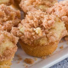 Mini Coffee Cake Muffins - Brooklyn Farm Girl