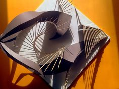 1/8 Scale Concept Model illustrates two opposing forces of movement, speed, and…
