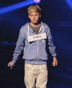 The time they spelled Niall's name wrong and he looked like a tiny, broken doll. | 31 Iconic Moments From The Beginning Of One Direction