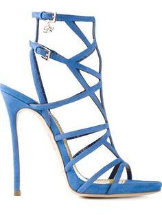 sandales à design à brides