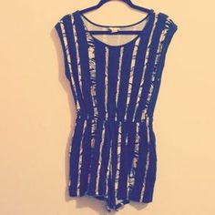 Super cute Forever 21 romper, $10   Download the app to buy it!  https://itunes.apple.com/us/app/modabound-buy-sell-fashion/id768237816?mt=8