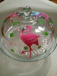 Flamingo Cake Cover www.bicklanecreations.com