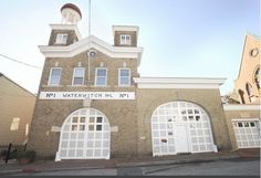 old firehouse in downtown annapolis converted into a contemporary living space...i'd love to live somewhere like this