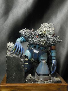 1/144 MSM-03 Gogg: Custom build on diorama by みきた Photoreview [WIP too] No.11 Images http://www.gunjap.net/site/?p=184154