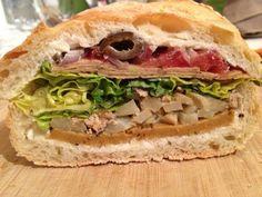 The Best Vegan Submarine Sandwich Ever + recipe for Homemade Vegan Salami